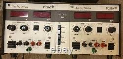 TTI PL320 bench power supply 32V, 2 Amp and HQ Power PS23023 triple 30V, 3A PSU