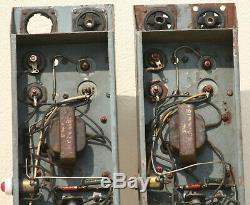 TUBE AMPLIFIER VINTAGE STEREO AMP POWER SUPPLY VALVE theater CINEMA PAIR BBC X2