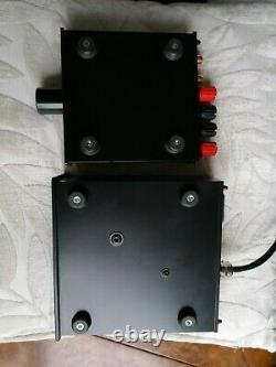 Temple Audio Bantam Gold Amp & Supercharger Class D Amp + Power Supply Excellent