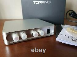Topping A50s, D50s and P50 Stack. DAC, Linear Power Supply, Headphone Amp in UK