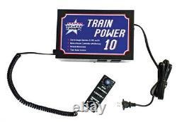 USA Trains RTP10 Train Power 10 Amp Walk Around Power Supply withMomentum withWalkar