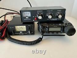Yaesu FT-857D Radio Transceiver. MFJ 30 AMP Power Supply. MFJ VHF Tuner