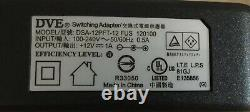 100 Chargeurs De Transformateurs Ul Listed 12v DC 1amp Power Supply Switch