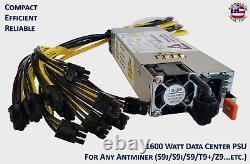 1600w Mining Universal Alimentation Pour Tous Antminer / Avalon