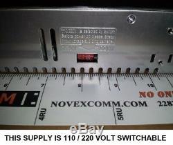 3u Pour Switchs Rackables Kenwood Ts590 Avec Haut-parleur Et 30 Amp Ac Alimentation