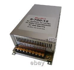 50 Amp Power Supply Stack À 100 Ampères Ou Plus 9-14vdc Ham Cb Radio Megawatt 12