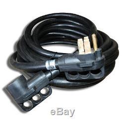 50 Pieds 50 Ampères Cordon Rv Extension D'alimentation Par Câble Pour Remorque Motorhome Camper