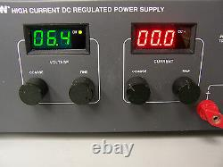 7734 Bk Precision 1796 Alimentation Réglementée À Courant Élevé DC 16v-50amp