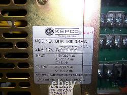 8503 Kepco Bhk500-0,4mg Alimentation Haute Tension 500v / 0,4amp