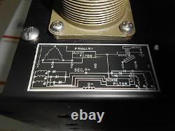 9403 Alimentation 9x4x7,6/ 3 Phase Entrée 200vac/ Out 72vdc/400hz/120 Amp Nos