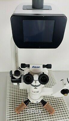 Alcon Luxor Ophtahlmic Microscope Vignetage-i Amp Avec Connexion Wi-fi Footpedal, Alimentation Électrique