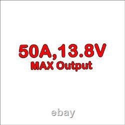 Alimentation De Commutation DC 50 Amp Amp 13.8v (dpws-5012ds)