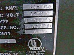 Alimentation De Commutation De Lampe Xénon Rectifier Forte - 50-100 Amp DC