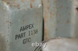 Alimentation En Tube Vintage Ampex 375 Western Electric Metal Amp Amp Studio