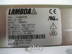 Alimentation Lambda P/n Th200036 Sortie 28-42vdc 40amps Nouveau