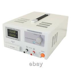 Alimentation Linéaire 0-30 Volt, 0-10 Ampère Avec Limite De Courant Réglable #