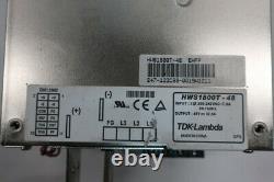 Alimentation Tdk-lambda Hws1800t-48 200-240v-ac 37.5a Amp 48v-dc