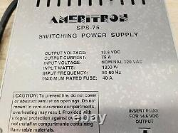 Ameritron 75 Amp Switching Power Supply Amp Amplificateur C My Other Ham Radio Gear