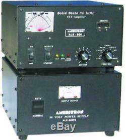 Ameritron Als-600 600w Hf Solid State Amp Avec Linear Power Supply