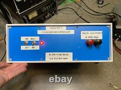 Amplificateur Linéaire Haute Vitesse De Base 4 X 2sc2879 Avec Alimentation 12,8 Vdc@100 Amplificateur