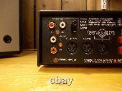 Amplificateur Stéréo Ion Obelisk 3 Avec Alimentation Xpak 1, Ampli Nytech Naim Box