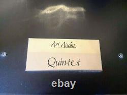Art Audio Quintet 15w El34 Ampli De Soupape Intégré Avec Alimentation De La Patrouille Frontalière