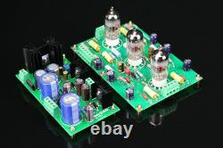 Assemblage 12ax7 E834 Riaa MM Tube Phono Stage Amp + Power Supply Board L5-36