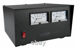 Astron Rs-20m-bb Table Top 20 Amp Regulated DC Power Supply With Battery Back Up