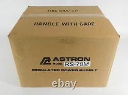 Astron Rs-70m Ham Radio 70 Amp Metered Power Supply (nouveau Dans La Boîte Scellée D'usine)