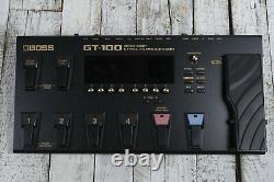 Boss Gt-100 Electric Guitar Multi Effect Pedal Cosm Guitar Amp Effects Processor