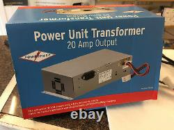 Caravan Motorhome Mains 12v Alimentation D'alimentation Chargeur De Batterie 20 Amp Po120 Ps276