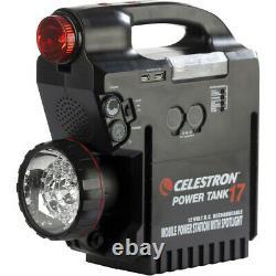 Celestron Powertank 17 17 Amp 12 VDC Alimentation Pour Télescope #1877 (uk) Bnib