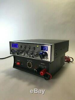 Connex Cx-3300 HP 10 Mètres Ham Radio Mobile Avec Dps22 22 Amp Alimentation Paquet