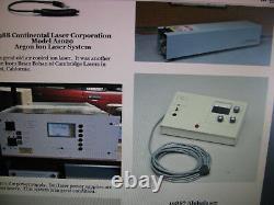 Continental Argon Ion Alimentation Laser A020ps 208vac/40amp Pour Le Système A1020