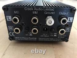 Creek Obh 15 MM / MC Phono Preamp Vorverstärker Mit Obh-2 Netzteil Alimentation