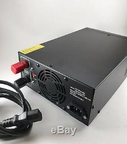 Delta Dps60m 60 Amp 12v Ac / DC Alimentation Avec Volt Ampèremètre Ham Radio Cb