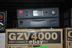 Diamond Gzv-4000 40amp Alimentation Électrique Avec Haut-parleur Intégré Dans L'extension