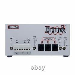 Digitrax Db210 Bundle Unique 3/5/8 Amp DCC Loconet Booster Avec Alimentation Nouveau