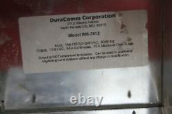 Duracomm Alimentation Électrique 13.8vdc 75amp Modèle Rm-7512
