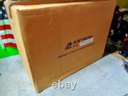Estatenew Astron Vrm-50m 50 Amp Adjustable DC Power Supply Rack Mount Vu Meters