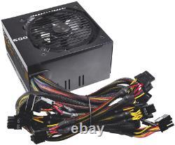 Evga 600 B1 80+ Bronze 600w Computer Pc Power Supply Psu High Amp Rail Design