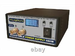 Fusion 5-15v 0-40amps 600w Alimentation Réglable Fs-ps600adj