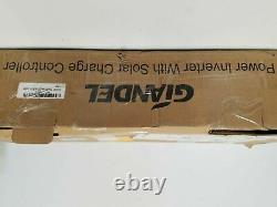 Giandel Power Inverter 3000with6000w 12v À 110v120v! Avec Contrôleur Solaire 20amp
