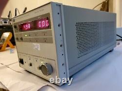 HP / Agilent 6038a 0-60 Volts 0-10 Ampères 200 Watt Alimentation Testée