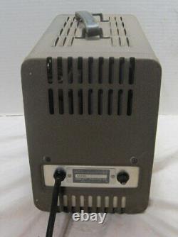 HP Model 711a Alimentation Réglable Réglable À Haute Tension==amplis À Tube