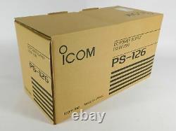Icom Ps-126 DC 25 Amp Power Supply (nouveau Dans La Boîte Scellée En Usine)