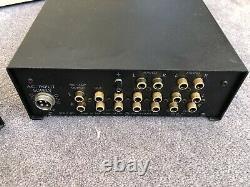 Ion Systems Nexus Sp1 Pré Ampli Avec Alimentation X Pac 2 Power. Fil Audio Vintage