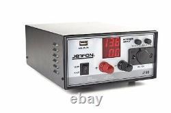 Jetfon Jf60 Jf-60 Psu 60 Amp Alimentation 13.8v Ham Radio Cb Uk Plug
