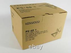 Kenwood Ps-60 Ham Radio 30 Amp Power Supply (nouveau Dans La Boîte D'usine)