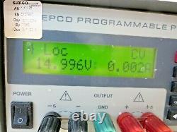 Kepco, Abc15-7dm, Alimentation Programmable, 0-15 Vdc, 0-7 Sortie D'ampli
